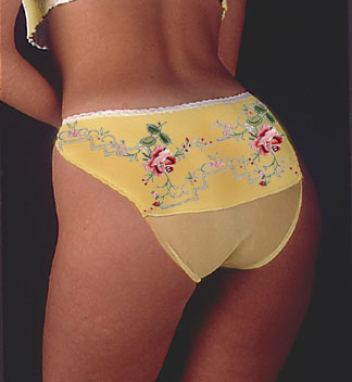 Yellow Flower Back